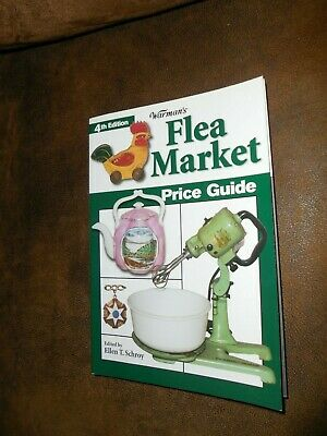 WARMAN'S  4th Edition Flea Market Price Guide 2005 by KP Books Pre-owned
