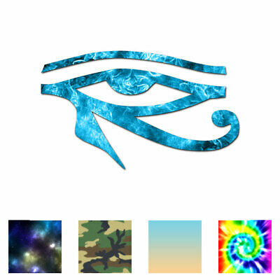 Wadjet Eye Of Horus - Vinyl Decal Sticker - Multiple Patterns & Sizes - ebn272