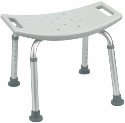 Shower Chair Bath Seat Adjustable Safety Bathroom Tub Bench By Drive Medical NEW