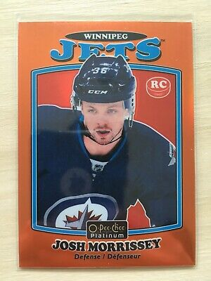 2016-17 JOSH MORRISSEY OPC Platinum Marquee Rookie Orange Rainbow Retro #/49