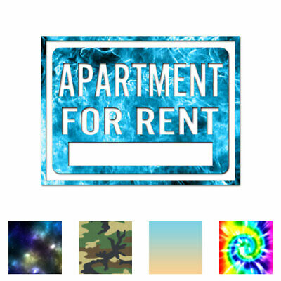 Apartment For Rent Business - Decal Sticker - Multiple Patterns & Sizes ebn4003
