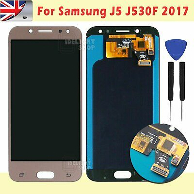 For Samsung Galaxy J5 J530F 2017 Screen Replacement LCD Touch Digitizer Gold UK