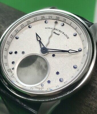 Schaumburg Moon Grand Perpetual One Swiss Automatic Moon Phase 43mm German Made