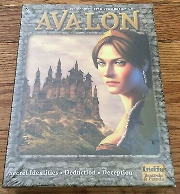 Avalon The Resistance Don Eskridge Indie Board Game New Sealed
