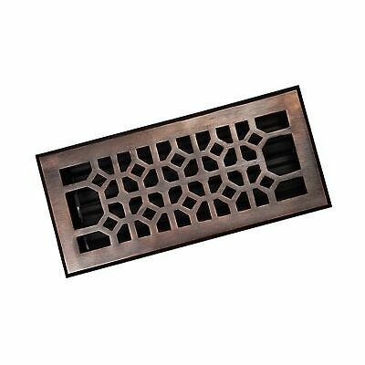 The Copper Factory CF140AN Solid Cast Copper Decorative 4-Inch by 10-Inch Flo...