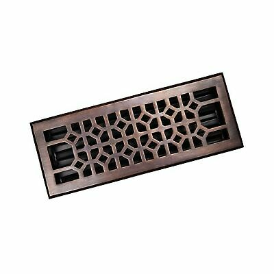 The Copper Factory CF141AN Solid Cast Copper Decorative 4-Inch by 12-Inch Flo...