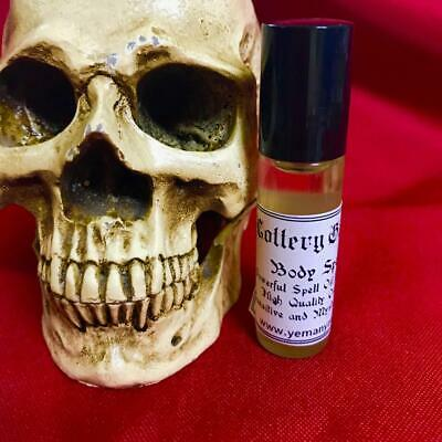 LOTTERY GAMBLING - Powerful Spell Oil for the Body 6mlRITUAL SPELL PERFUM WITCH