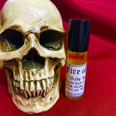 FIRE OF LOVE - Powerful Spell Oil for the Body 6mlRITUAL SPELL PERFUM WITCH