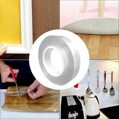 Multi-Functional Adhesive Nano Tape Residue Free Transparent Super Adhesive Roll