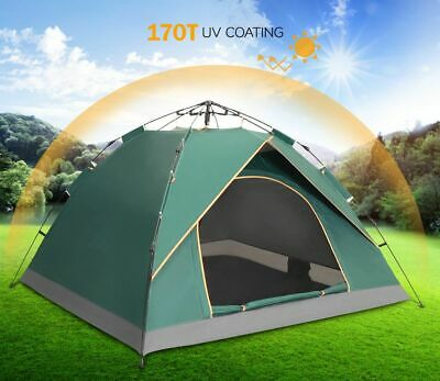 Camping 2-3 Man Person Pop Up Family Tent Outdoor Sun Shelter Festival  Beach