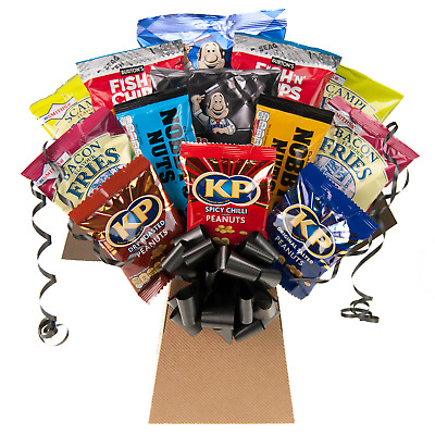 Pub Favourites Snack Bouquet - British Pub Favourites Hamper Perfect Gift