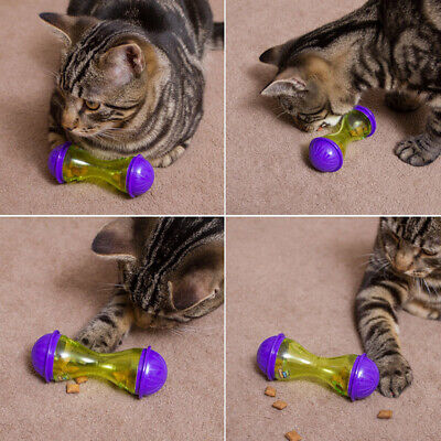 Cat Dog Feeder Plastic Funny Pet Food Dispenser Treat Ball Puppy Leakage Toy Hot