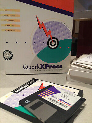 Quark QuarkXpress 3.32 - (Mac 68k/PPC) - (USED)