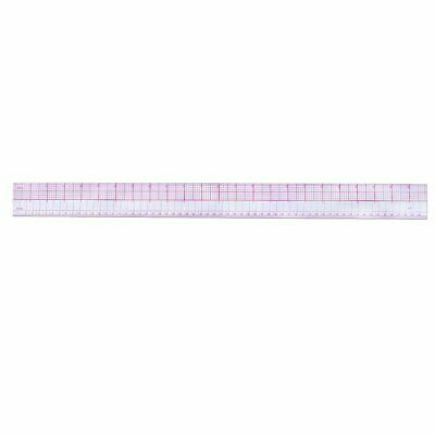 Multi-function Code Ruler Cutting Ruler Sewing Feet Yardstick Clear oc