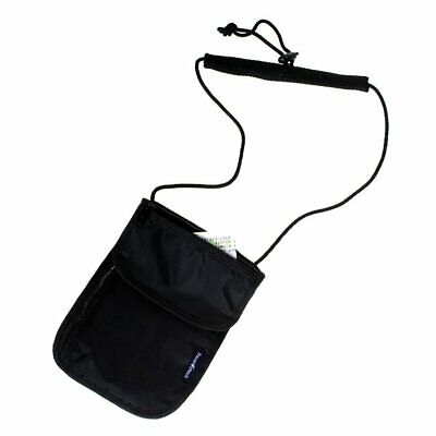 Travel Secure Neck Pouch Passport Card Ticket Money Secret Wallet Holster Bag fh