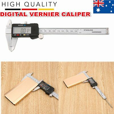 Digital Vernier Caliper Stainless Steel Gauge LCD Measuring Tool Caliper aE