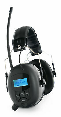 28dB Casque Anti Bruit Protection Auditive Radio DAB+ FM Bluetooth AUX Stereo