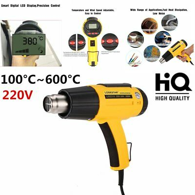 HEAT GUN 2000W  ELECTRIC HOT AIR DUAL SPEED TEMPERATURE POWER st