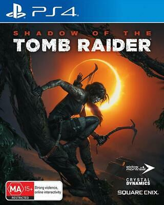 Shadow Of The Tomb Raider Sony PS4 Playstation 4 Lara Croft RPG Action Game