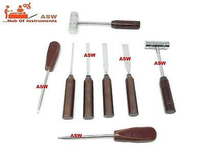 Hammer Cannulated Screw Driver Osteotome Set 03 Orthopedic Surgical Instrument