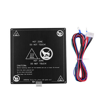 Aibecy Aluminum Heated Bed 12V Hotbed 220*220*3mm+Wire Cable for Anet A8 A6 P7A5
