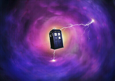 Art Print POSTER / CANVAS Dr Who Space Tardis#4