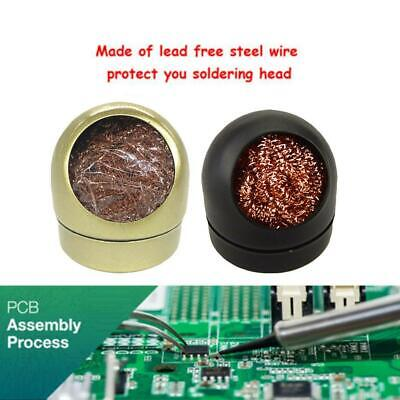 Soldering Iron Cleaner Cleaning Steel Wire With Stand Multi-point Cleaning
