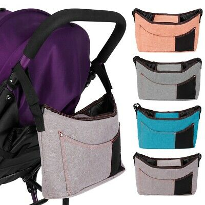 Newborn Baby Large Capacity Mommy Baby Pack Stroller Hanging Bag Accessories