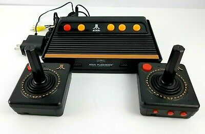 Atari Flashback with 2 Wireless Controllers Lots of Built in Games TESTED