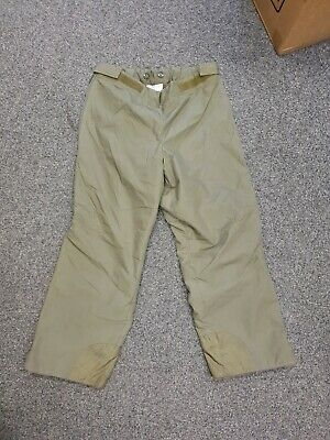 Vintage German Army Extreme Cold Weather Trousers Goretex Fur Lined