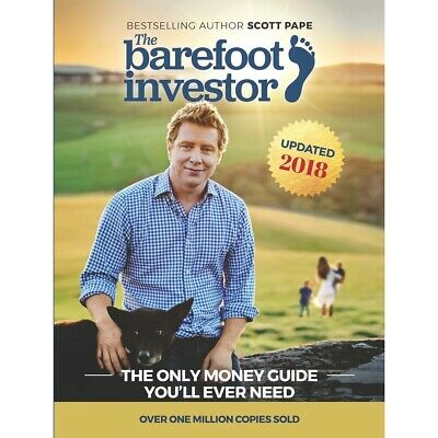 NEW The Barefoot Investor 2018 Update By Scott Pape Paperback 1 Day Special