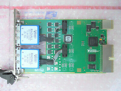 National Instruments NI PXI-2599 Dual SPDT RF Relay Switch Card, 26.5GHz