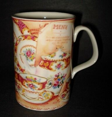 2 Bone China ROYAL ALBERT LADY CARLYLE AFTERNOON TEA CUPS COFFEE MUGS Chintz VTG