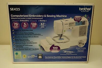 Brother SE425 Computerized Sewing & Embroidery Machine - Brand New Sealed! (XB2)
