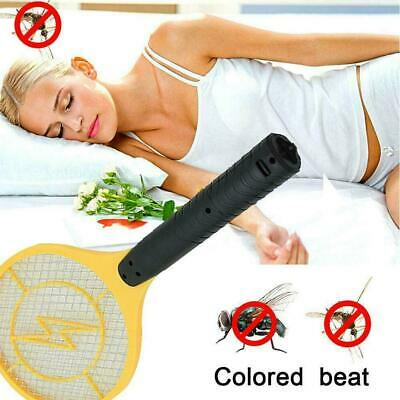 Electric Racket Killer Executioner Fly Swat Wasp Bug Mosquito Swatter I4O8