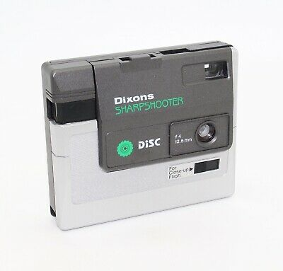 Dixons Sharpshooter Pocket Disc Camera with box and instructions – Tested VGC