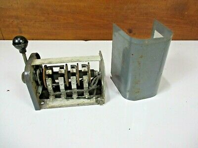 1940's Antique Reversing Forward Drum Switch VTG - Cutler Hammer Square D H4