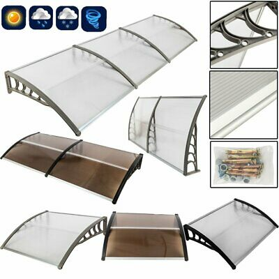 """40""""x 80""""/120"""" Front Door Window Awning Cover Outdoor Patio Canopy UV Protector"""