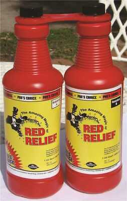 NAMCO Red Relief Stain Remover Quart Size Bottle (2-Pack)