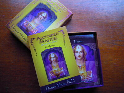 ASCENDED MASTER ORACLE cards Doreen Virtue - £24 00