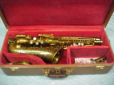 "Vintage Martin Committee ""The Martin Alto"" Saxophone, Very Good Condition"