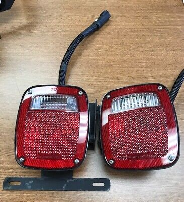 new gmc factory oem genuine gm truck tail lamps lights cab and chassis