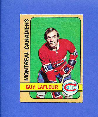 1972 OPC GUY LAFLEUR o-pee-chee canadiens 2nd card