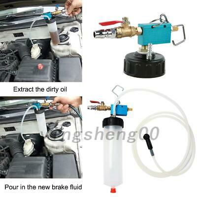 AU 1Pcs Brake & Clutch Bleeder Kit Car/Van Fluid Bleeding Vacuum Tool