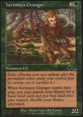 Yavimaya Granger FOIL Urza/'s Legacy PLD Green Common MAGIC MTG CARD ABUGames