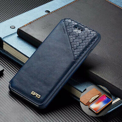 Flip Leather Case Card Stand Magnetic Wallet Cover For iPhone XS Max 7 Plus 6S