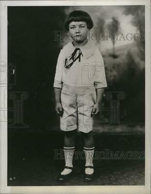 1944 Press Photo Actor Lew Ayres at a young age in Minneapolis, Minnesota