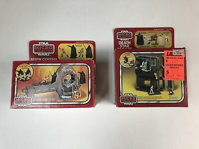 Star Wars Micro Collection - Boxes only, Lot of 2