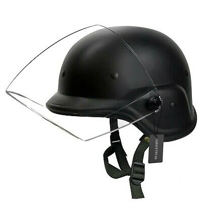 GI Style Military ABS Plastic PASGT  Tactical Helmet /& Strap Rothco 1994