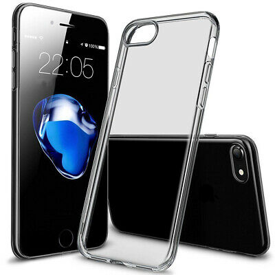 Transparent Soft Silicone Case Skin Cover for iPhone SE 5 5S 6 6S 7 Plus  high